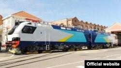 Францияның Alstom компаниясының Қазақстан үшін дайындаған электровоздары. (Сурет компанияның сайтына алынды).