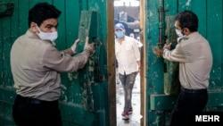 بازگشایی حرم عبدالعظیم در شهر ری پس از دو ماه
