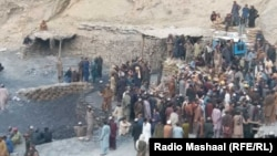 FILE: A coal mine in Pakistan's southwestern Balochistan province where accidents are common and working conditions are poor.