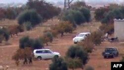 Рација на сириската армија во близина на градот Таибет Ал Имам.