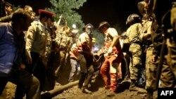 Спасательные работы на шахте в провинции Голестан
