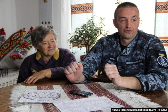 Ольга Оприско дочекалась сина