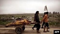 17-мартта Ирактагы абадан урулган соккудан 150дөй жайкын тургун мерт болгон.