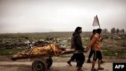 Irakianët largohen nga perëndimi i Mosulit