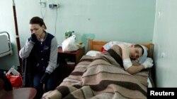 Раненый в столкновениях в Одессе 2 мая