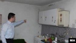 Премирот Груевски по земјотресот во Валандово на 02 Јуни 2009