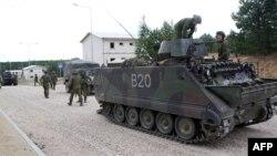 Ілюстраційне фото. Військовослужбовці Литви взяли участь у навчанні після офіційного відкриття військового навчального центру для міської війни в Пабраді, 30 серпня 2016 року