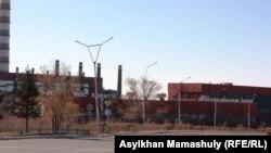 Медеплавильный завод товарищества «Корпорация Казахмыс» в Жезказгане.