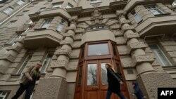 Дом в Москве, в котором живет избитый неизвестными голландский дипломат