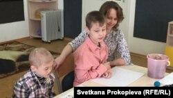 Занятия с особенными детьми в Центре лечебной педагогики