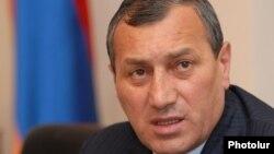 Губернатор Сюникской области Армении Сурен Хачатрян