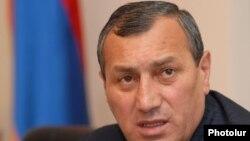 Губернатор Сюникской области Армении Сурик Хачатрян