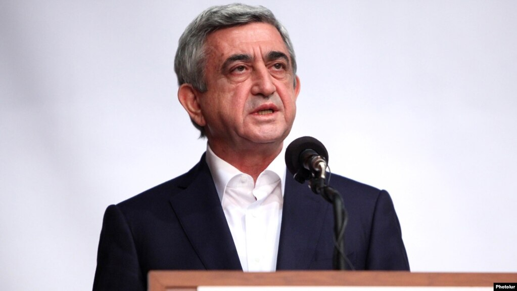 Former Armenian President Charged With Embezzlement