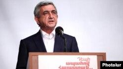 Հայաստանի երրորդ նախագահ Սերժ Սարգսյան, արխիվ