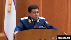 Өзбекстандын мурдагы башкы прокурору Отабек Муродов.