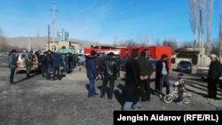 Баткен. Самаркандек айылы. 1-январь, 2014-жыл