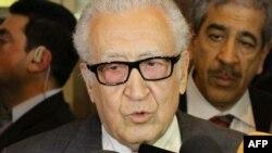 Lakhdar Brahimi u Damasku 29. oktobra