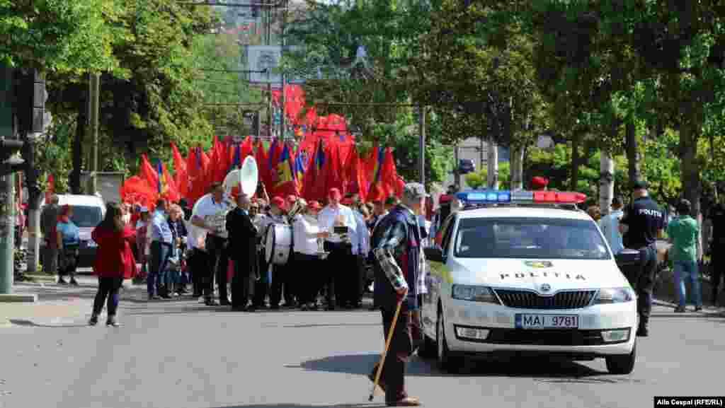 "1 Mai ""muncitoresc"" la Chișinău..."