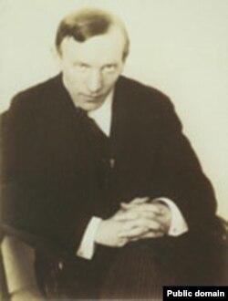Францішак Аляхновіч. Фота Яна Булгака, 1914