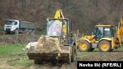 Čišćenje vodoizvorišta, Bajna Bašta, foto: Novka Ilić