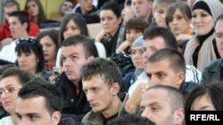 Studenti na fakultetu političkih nauka u Sarajevu, Foto: Midhat Poturović
