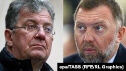 Сергей Приходько и Олег Дерипаска.