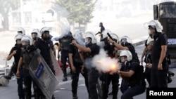 Polis Ankarada aksiyaçıları dağıdır - 3 iyun 2013
