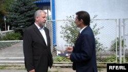 А.Мілінкевіч і Я.Берніковіч, патэнцыйны кандыдат з Глыбоччыны