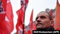 Оппозициядағы саясаткер Сергей Удальцов