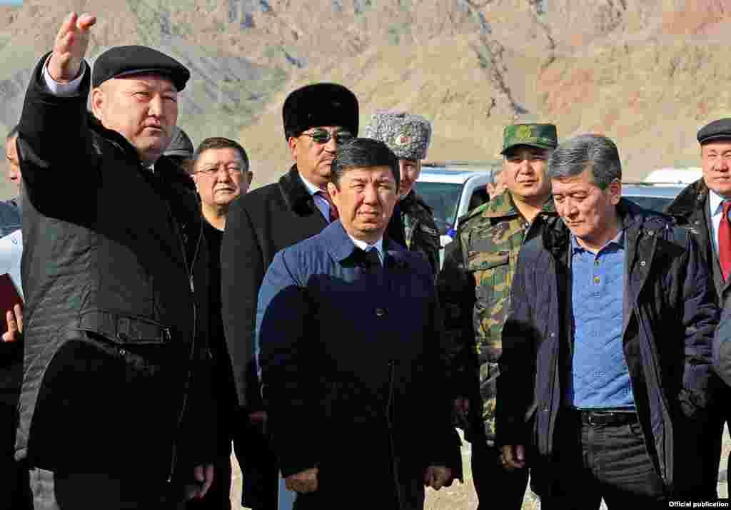 Премьер-министр Темир Сариев. 26 января 2016 года.