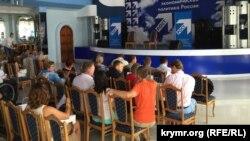 """Перед началом заседания """"Клуба Роста"""" в Севастополе"""