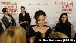 """Sarajevo: Angelina Jolie na premijeri filma """"U zemlji krvi i meda"""""""