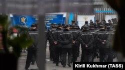 Осъдени в трудовия лагер № 8 в Новосибирск. Снимката е от 2018 г.