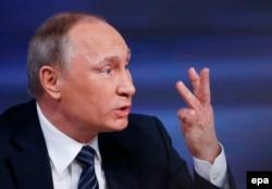 Владимир Путин на пресс-конференции, Москва, 17 декабря 2015 года