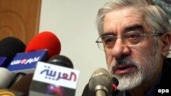 Иран президенттігіне үміткер Хоссейн Мусави. 29 мамыр 2009 ж.