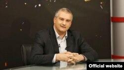 Сергій Аксьонов в ефірі програми «Від першої особи» на телеканалі «Перший кримський»