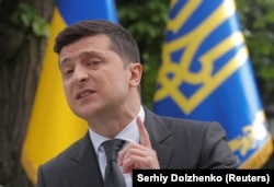 "Zelenskiy said that ""we must talk"" with Russia, no matter the format."