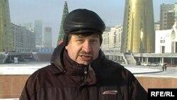 Валерий Карпусевич, азаматтық белсенді. Астана, 8 желтоқсан 2009 жыл