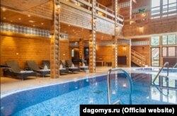 Банный дом оздоровительного корпуса «Дагомыс»