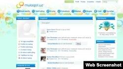 Muloqot.uz launched last week
