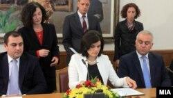 Партиите потпишаa Меморандум за членство во ЕУ.