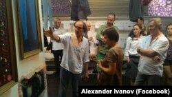 Прощальная выставка Вадима Кругликова