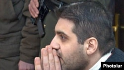 Jailed Editor Arman Babajanian