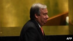 Birleşen Milletler Guramasynyň indiki ýolbaşçysy Antonio Guterres