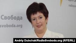 Уповноважений Верховної Ради з прав людини Валерія Лутковська