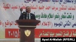 من مؤتمر الجامعة العراقية عن الإعلام