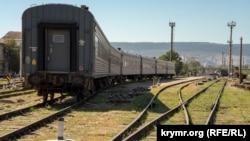 Поезд в Крыму (иллюстративное фото)