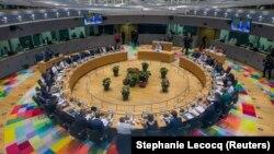 Лидеры стран Евросоюза на саммите в Брюсселе, 28 июня 2018 года.