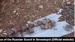 Арсенал боеприпасов в Севастополе, архивное фото