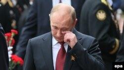 Володимир Путін у Севастополі, 9 травня 2014